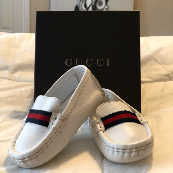 aa90cbb1d4 Authentic Infant Gucci Loafers